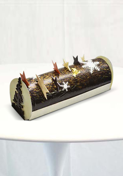 Mikado Christmas Log