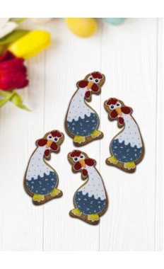 Dancing Chicken Cookies