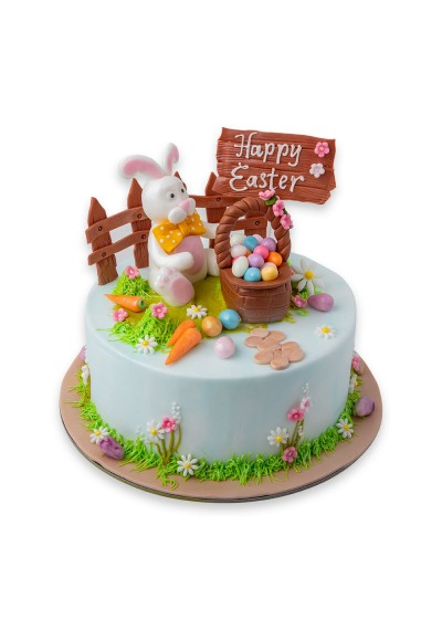 Happy Easter Bunny Cake