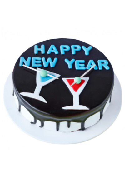 Luscious New year 2021 Cake