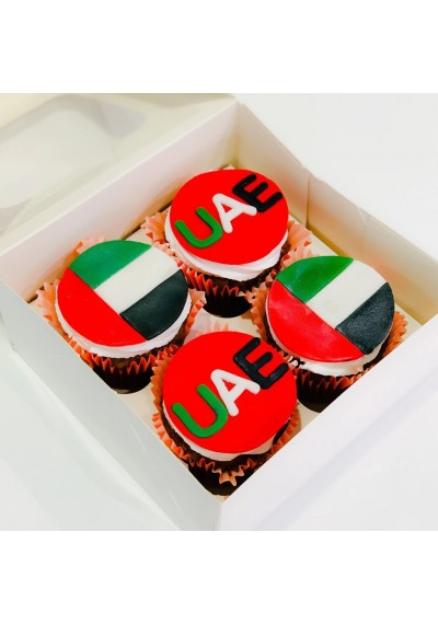 Colors of The UAE Cupcakes II