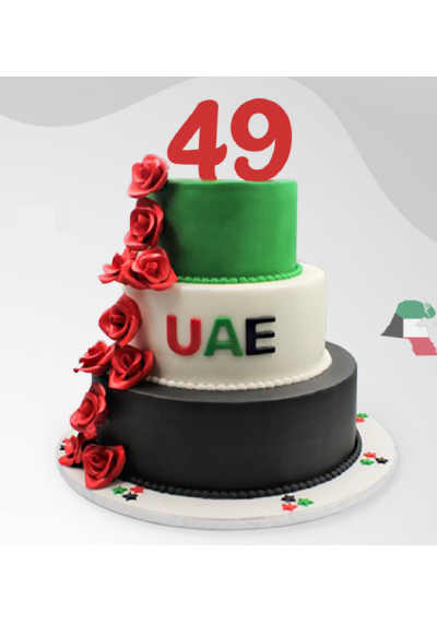 Happy 49th National Day Cake