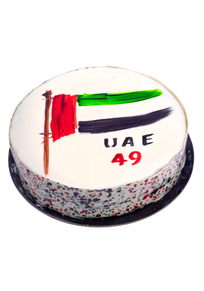 UAE 49th Celebration Cake