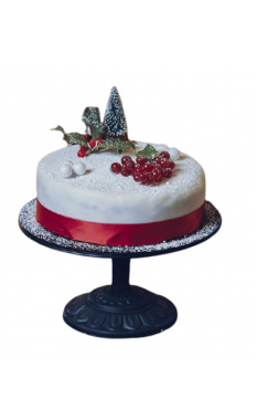 Delectable Christmas Cake