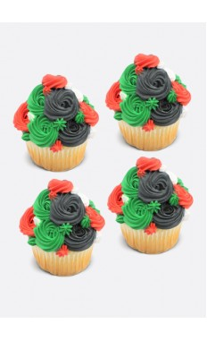 Colors Of The UAE Cupcakes