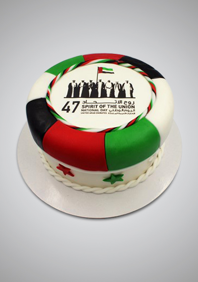 Founding Fathers Memorial National Day Cake