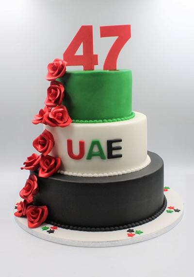 Magnificent UAE Homage Cake