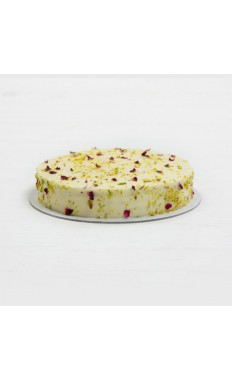Pistachio Rose Cheese Cake