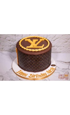 Louis Vuitton Branded Cake