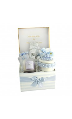 The baby chic by Forrey and Galland SMALL BOY HAMPER
