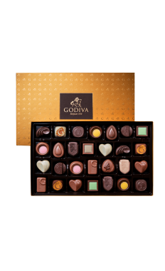 Assorted Chocolate Gold Discovery Gift Box