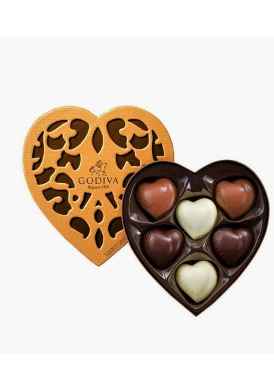 Godiva Coeur Selection 6 pc