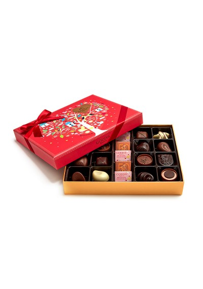 Valentine's Day Assorted Godiva Chocolate Gift Box, 21 PC