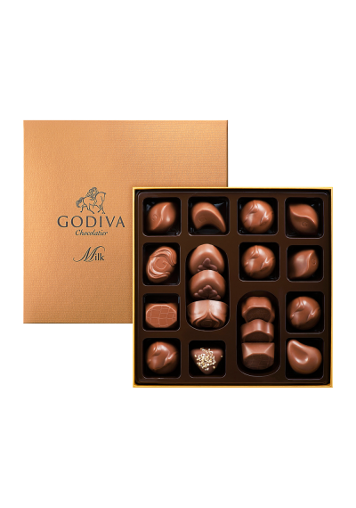 Godiva Connoisseur Milk Chocolates