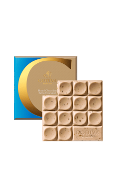Blond Chocolate Salted Caramel Tablet By Godiva