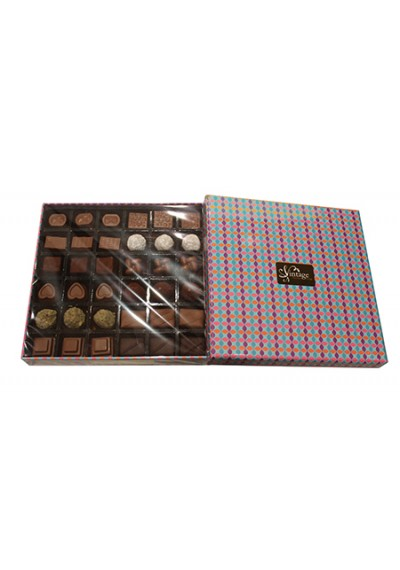 Vintage Choclate Gift Box 36 Pcs