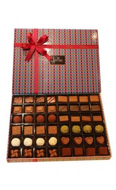 Vintage Choclate Gift Box 48 Pcs