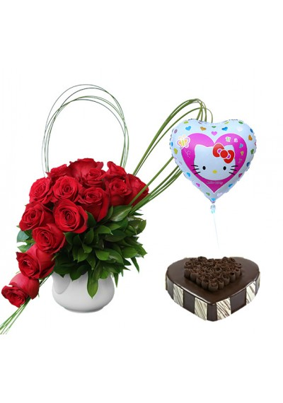 Enchanting Roses Love Combo Pack