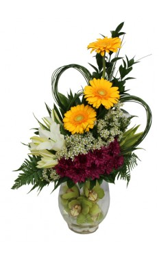 Sunny Blooms Bouquet