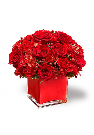 Colors of Love-Red Bouquet