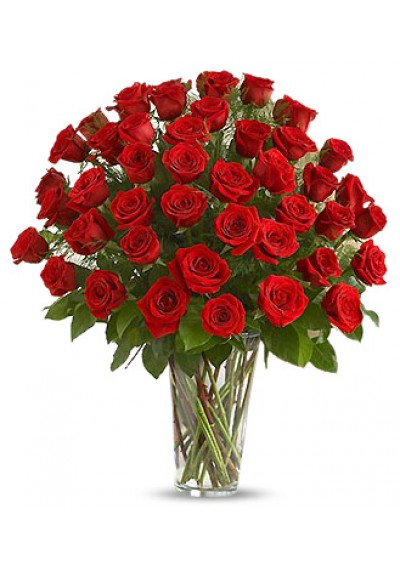 50 Red Rose Bouquet