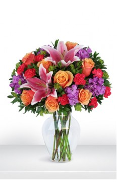 Colorful Affection Bouquet