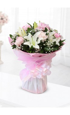 Pink Beauty Hand Tied