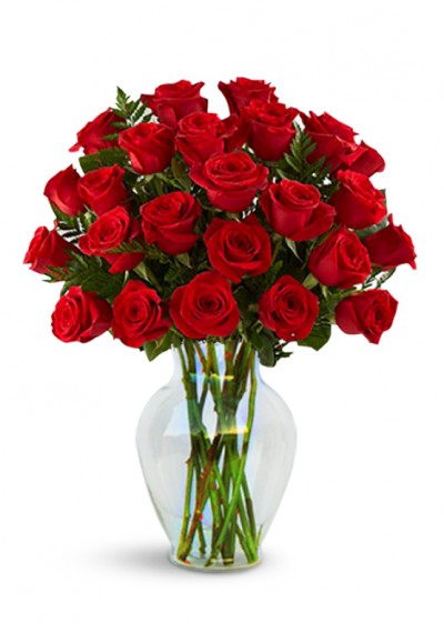 Love with Red Roses