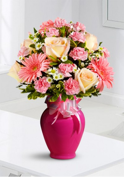 Mother's Day Elegance in Pink