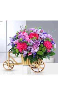 Cart of Loving Flowers