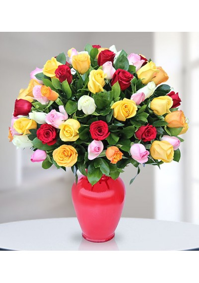 Incredible Mixed Roses