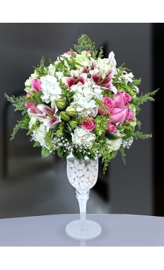 Top Pink White Bouquet