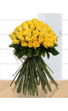 60 yellow Roses