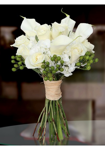 Calla Lilly Wedding Bouquet
