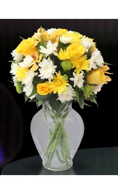 Sunny Sentiments Flower Bouquet
