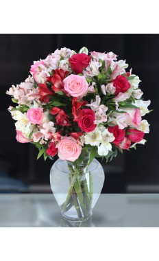 Romancing the Heart Bouquet