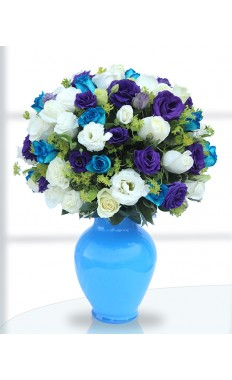 Blue Beauty Bouquet