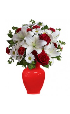 Be In Love Bouquet With Roses
