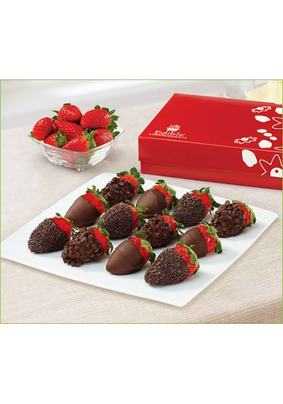 Chocolate Indulgence Strawberries Box