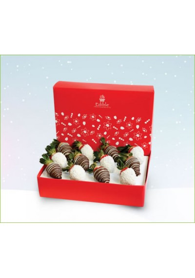 Christmas Strawberry Box