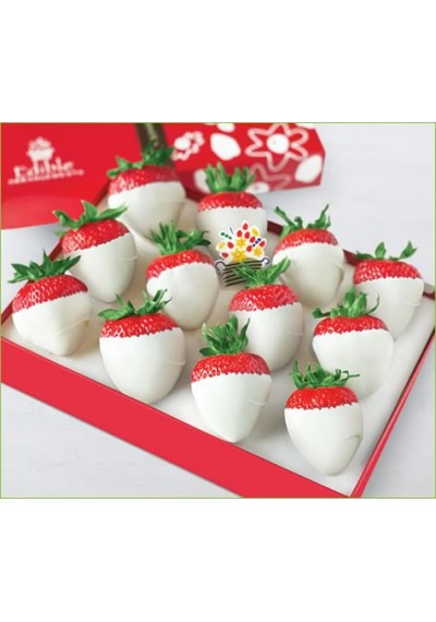 Dipped Strawberries Covered white