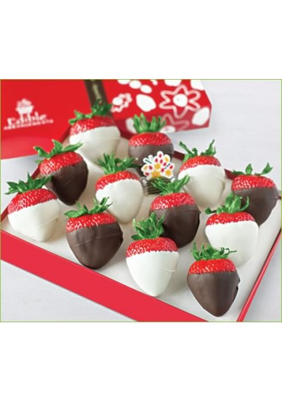 Dipped Strawberries White & Dark