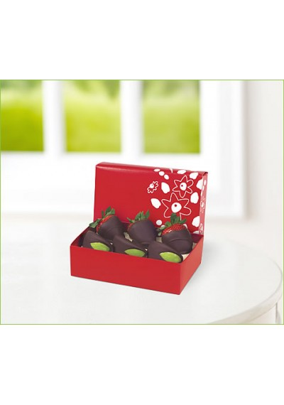 6 Chocolate Apple & Strawberry Box