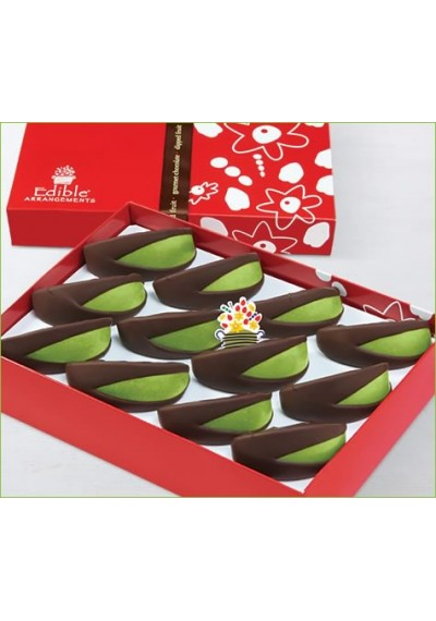 Apple Dipped Dark Chocolate  Box