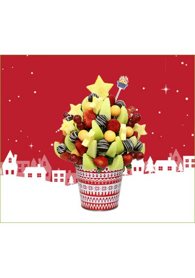 Christmas Fruit Bouquet