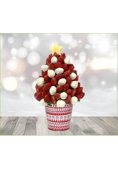 Christmas Tree Bouquet White Chocolate