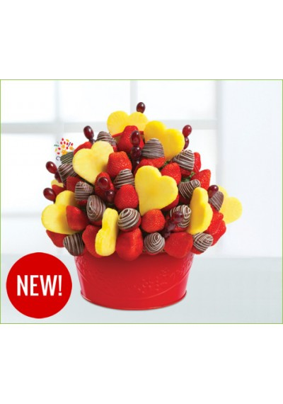 Buy I Love You Bouquet For Fruit Chocolate Covered Bouquet