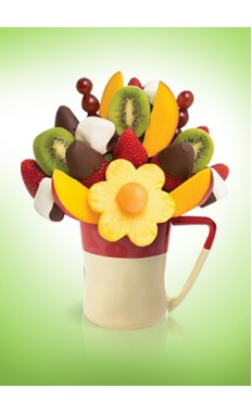 Mango Kiwi Daisy Dipped Strawberries And Bananas