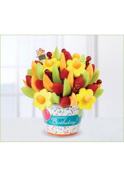 Happy Birthday Delicious Fruit Design