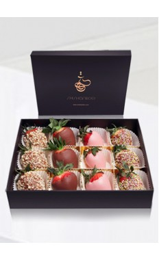 Fancy Strawberries Chocolate Box